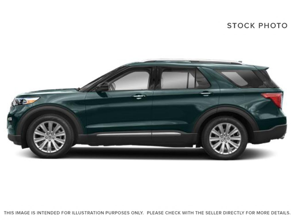 Green[Forged Green Metallic] 2022 Ford Explorer Left Side Photo in Dartmouth NS