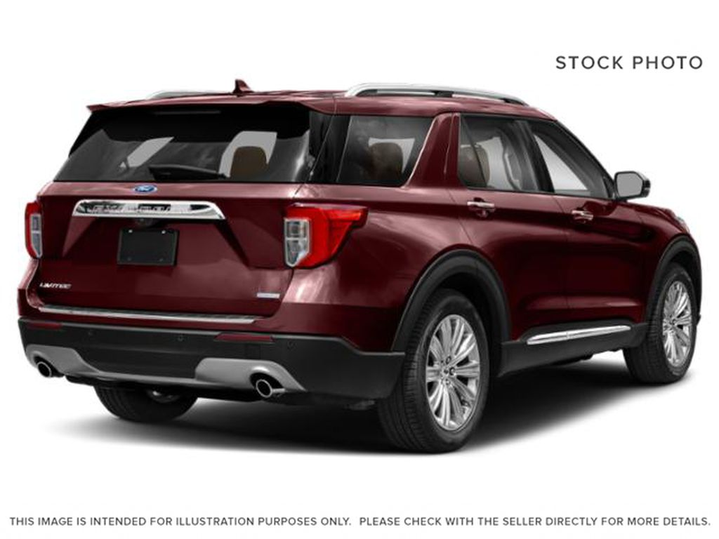 Red[Burgundy Velvet Metallic Tinted Clearcoat] 2022 Ford Explorer Right Rear Corner Photo in Dartmouth NS
