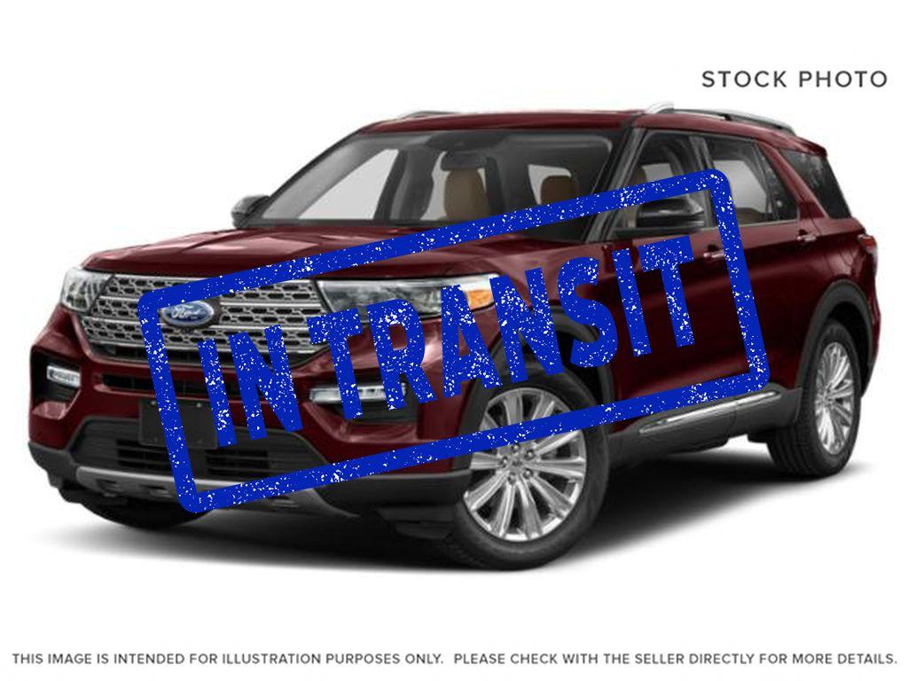 Red[Burgundy Velvet Metallic Tinted Clearcoat] 2022 Ford Explorer