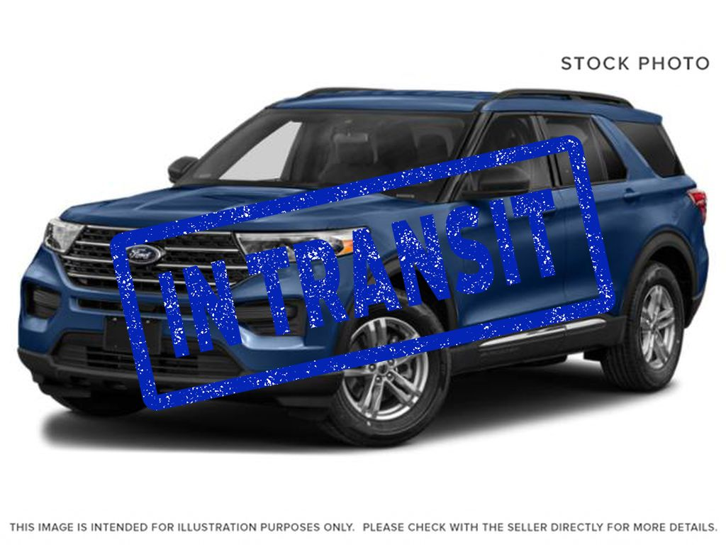 Blue[Atlas Blue Metallic] 2022 Ford Explorer
