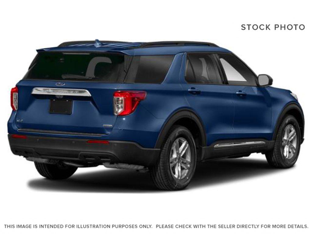 Blue[Atlas Blue Metallic] 2022 Ford Explorer Right Rear Corner Photo in Dartmouth NS