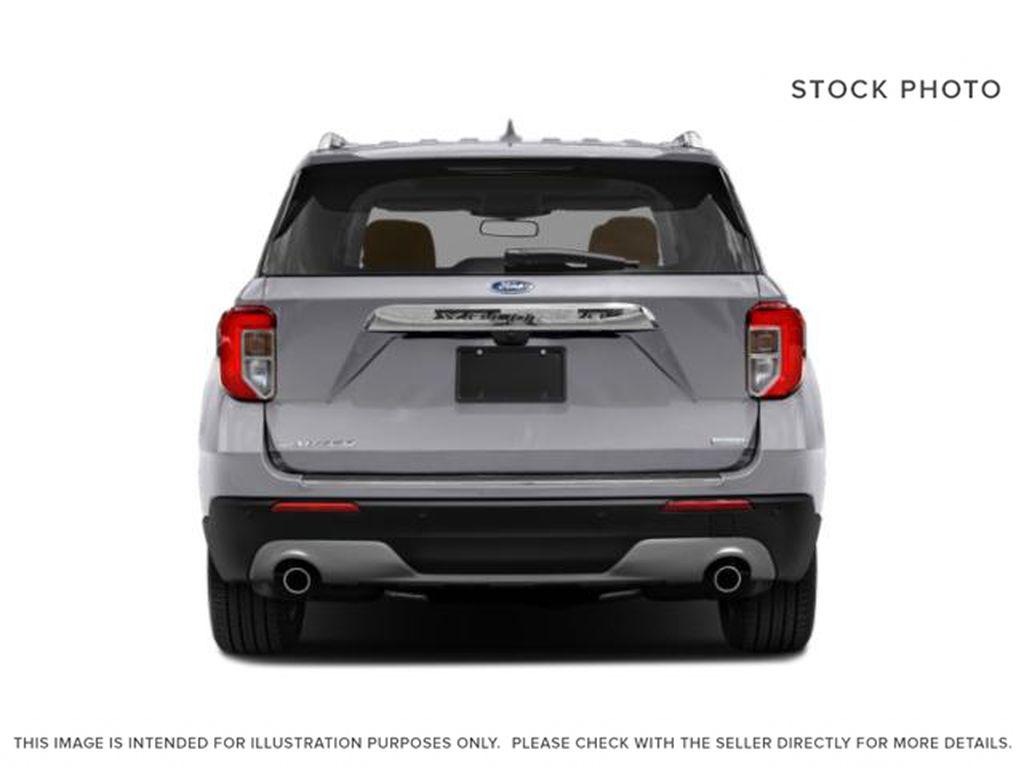 Blue[Atlas Blue Metallic] 2022 Ford Explorer Rear of Vehicle Photo in Dartmouth NS
