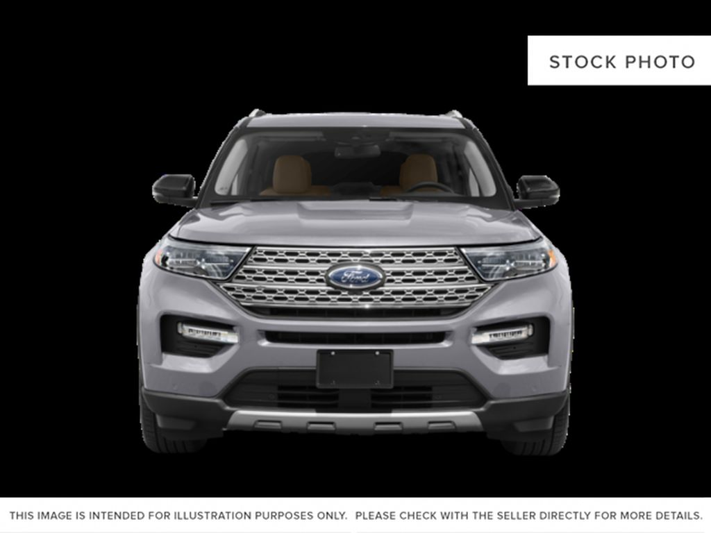 Blue[Atlas Blue Metallic] 2022 Ford Explorer Front Vehicle Photo in Dartmouth NS