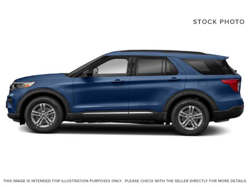 Blue[Atlas Blue Metallic] 2022 Ford Explorer Left Side Photo in Dartmouth NS