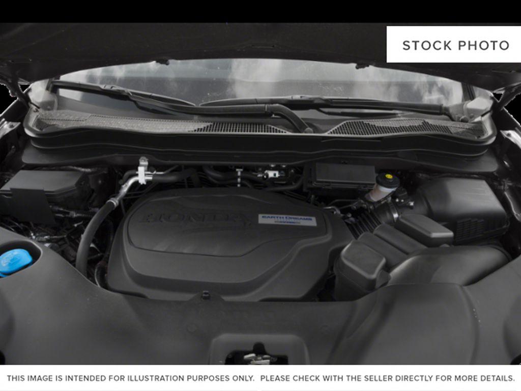 Blue[Obsidian Blue Pearl] 2019 Honda Ridgeline Engine Compartment Photo in Okotoks AB