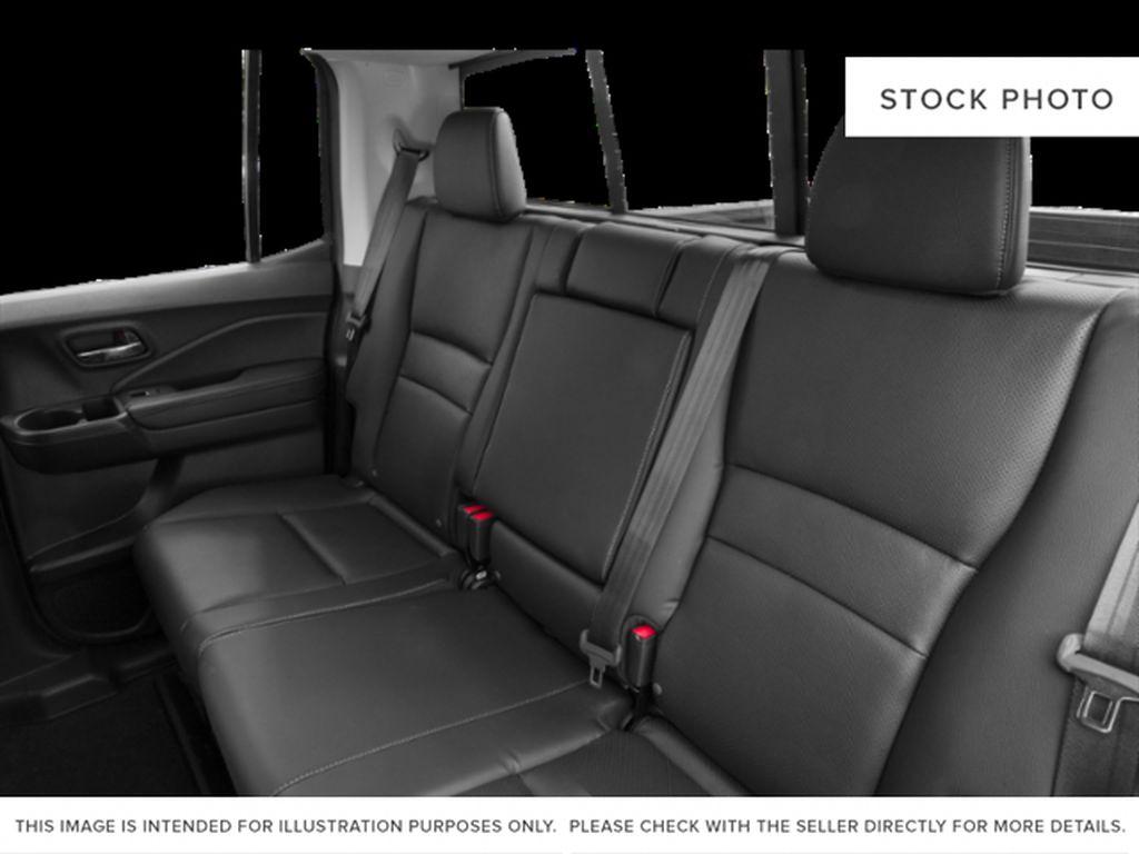 Blue[Obsidian Blue Pearl] 2019 Honda Ridgeline Left Side Rear Seat  Photo in Okotoks AB