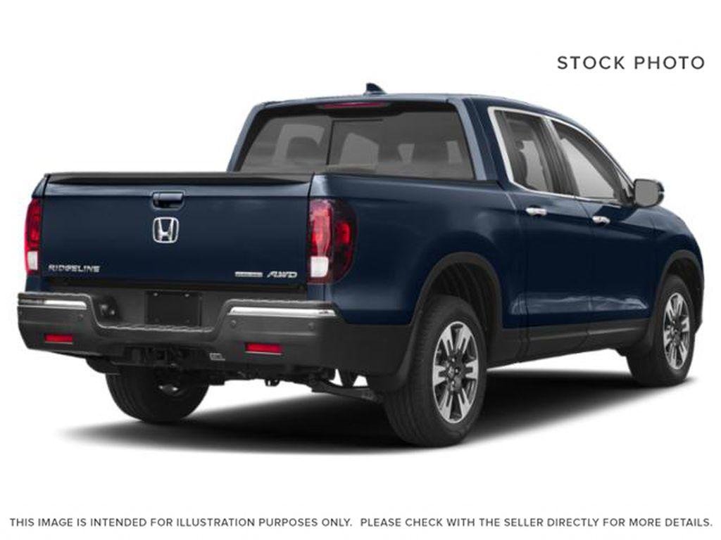 Blue[Obsidian Blue Pearl] 2019 Honda Ridgeline Right Rear Corner Photo in Okotoks AB