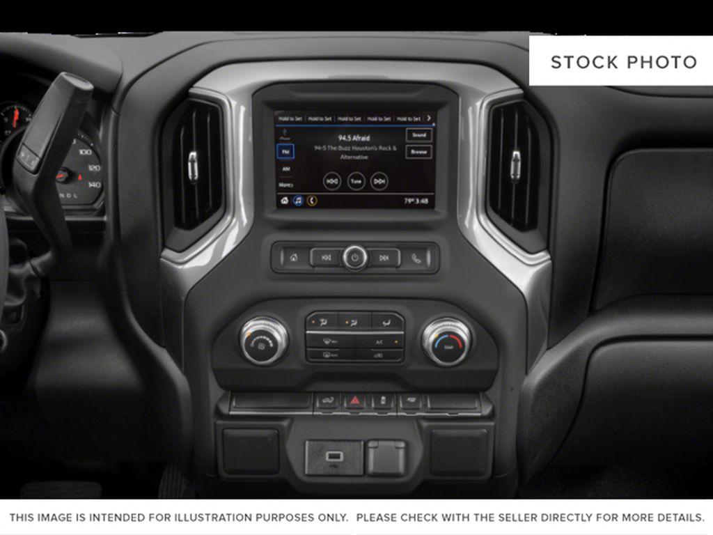 Black[Carbon Black Metallic] 2020 GMC Sierra 1500 Radio Controls Closeup Photo in Fort Macleod AB