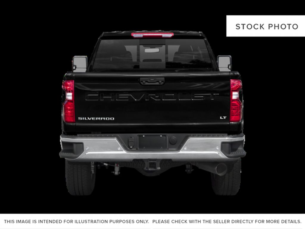 White[Iridescent Pearl Tricoat] 2020 Chevrolet Silverado 3500HD Rear of Vehicle Photo in Fort Macleod AB