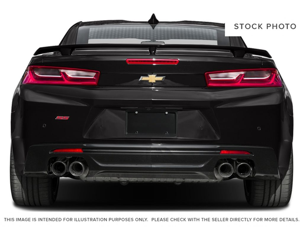 Red[Garnet Red Tintcoat] 2016 Chevrolet Camaro Rear of Vehicle Photo in Fort Macleod AB