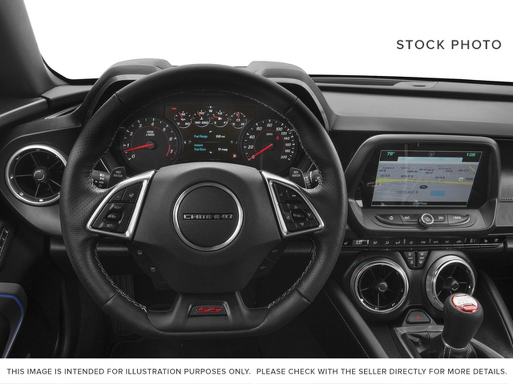Red[Garnet Red Tintcoat] 2016 Chevrolet Camaro Steering Wheel and Dash Photo in Fort Macleod AB