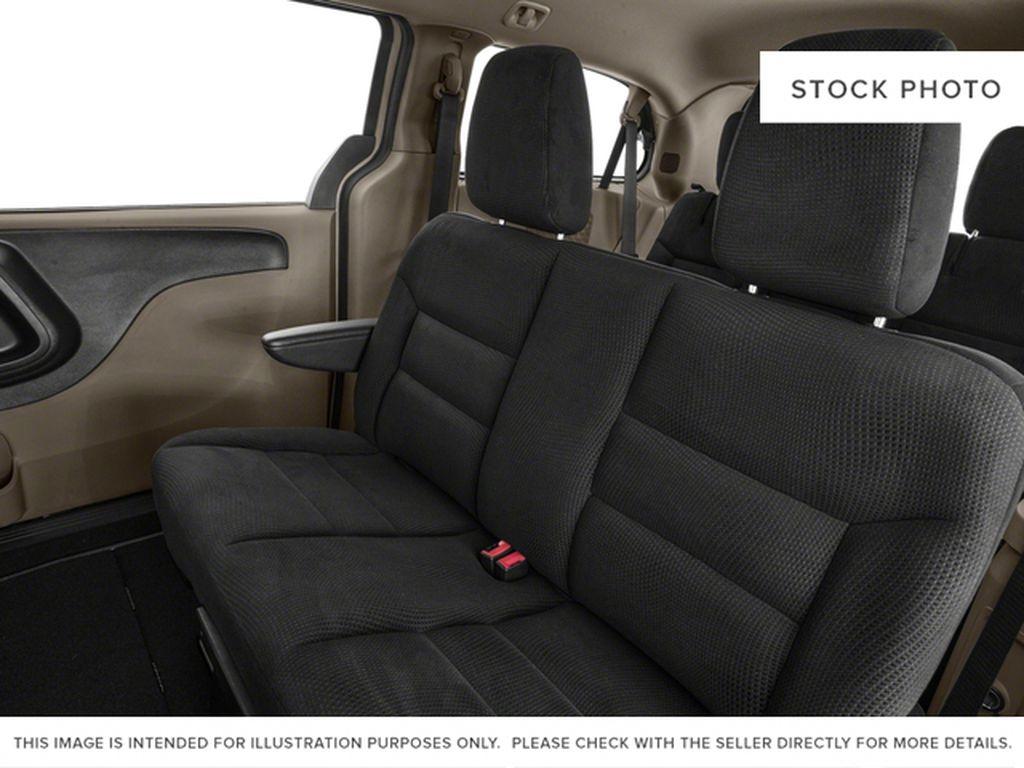 Black[Brilliant Black Crystal Pearl] 2018 Dodge Grand Caravan Left Side Rear Seat  Photo in Fort Macleod AB