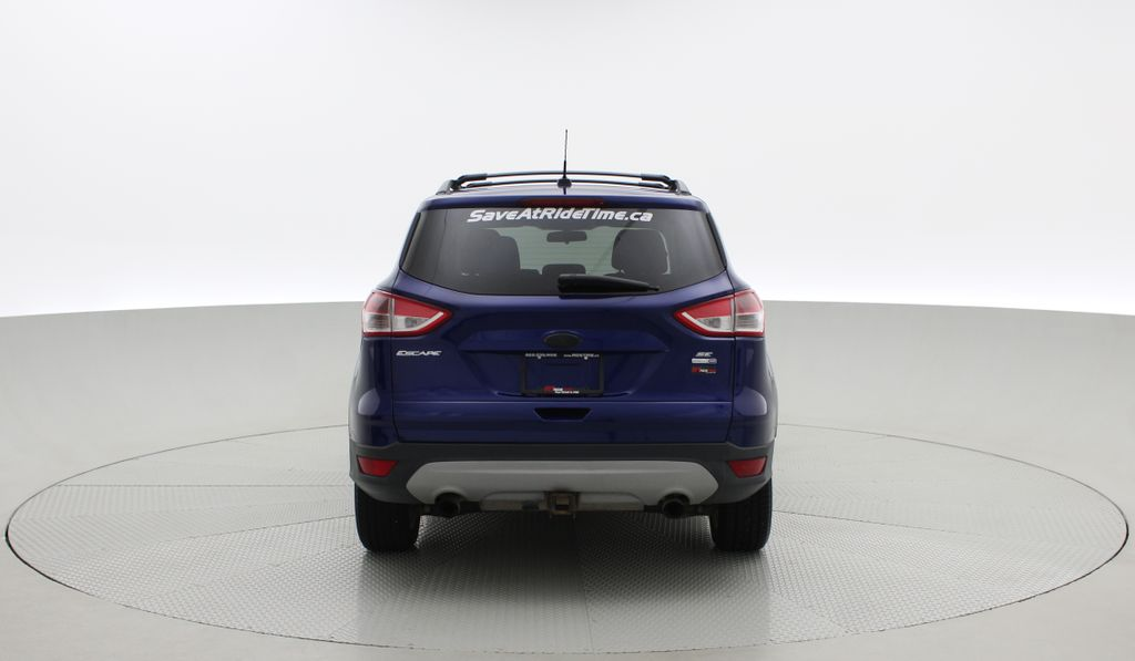 Blue[Deep Impact Blue] 2013 Ford Escape SE 4WD Rear of Vehicle Photo in Winnipeg MB