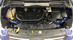 Blue[Deep Impact Blue] 2013 Ford Escape SE 4WD Engine Compartment Photo in Winnipeg MB