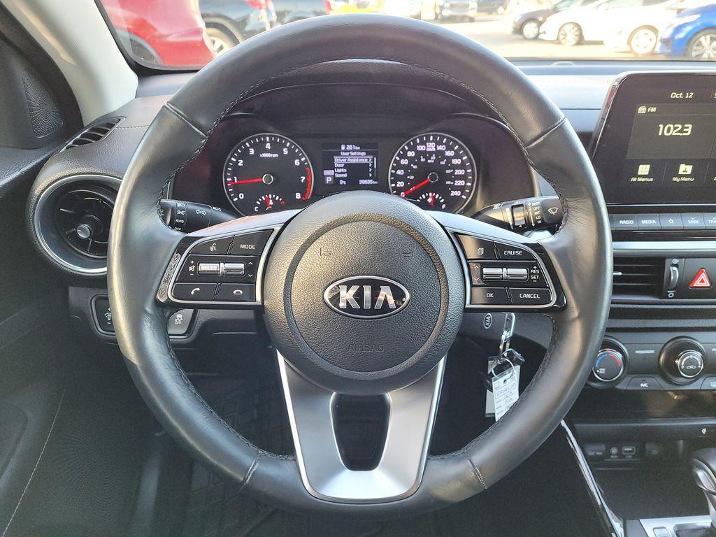 2019 Kia Forte Steering Wheel and Dash Photo in Kelowna BC