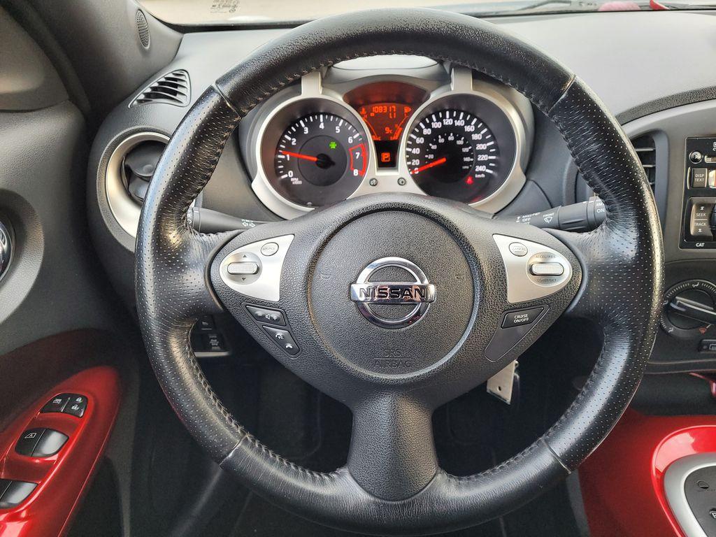 2011 Nissan JUKE Steering Wheel and Dash Photo in Kelowna BC