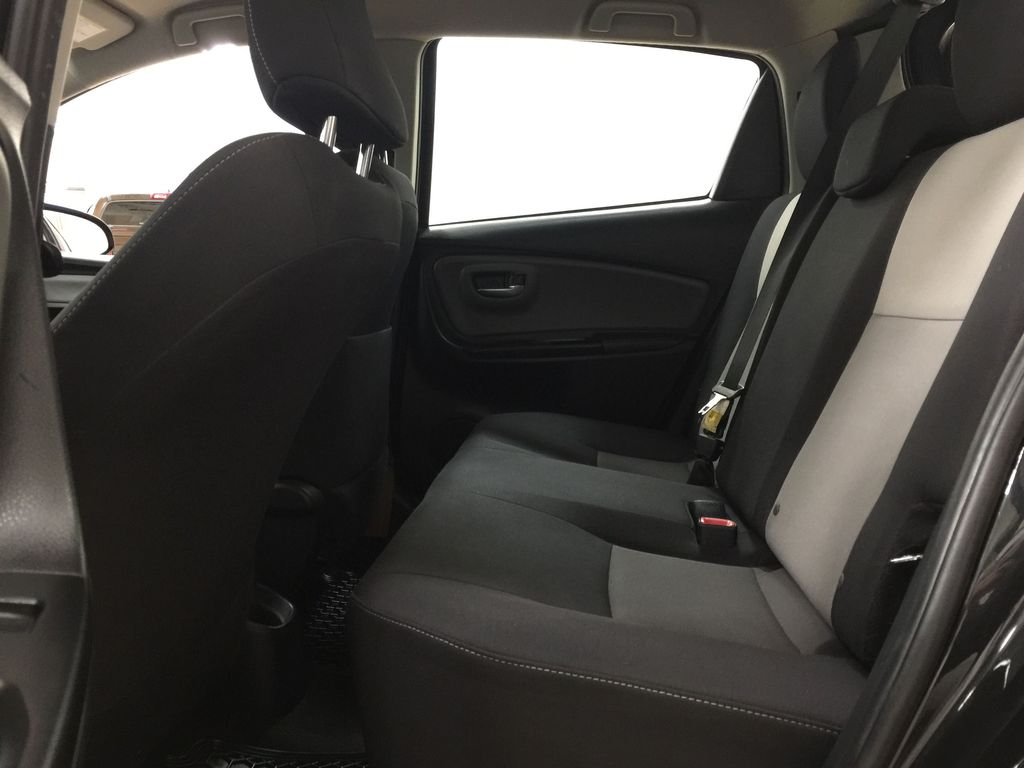Black[Black Sand Pearl] 2019 Toyota Yaris Hatchback LE / AUTOMATIC Left Side Rear Seat  Photo in Sherwood Park AB