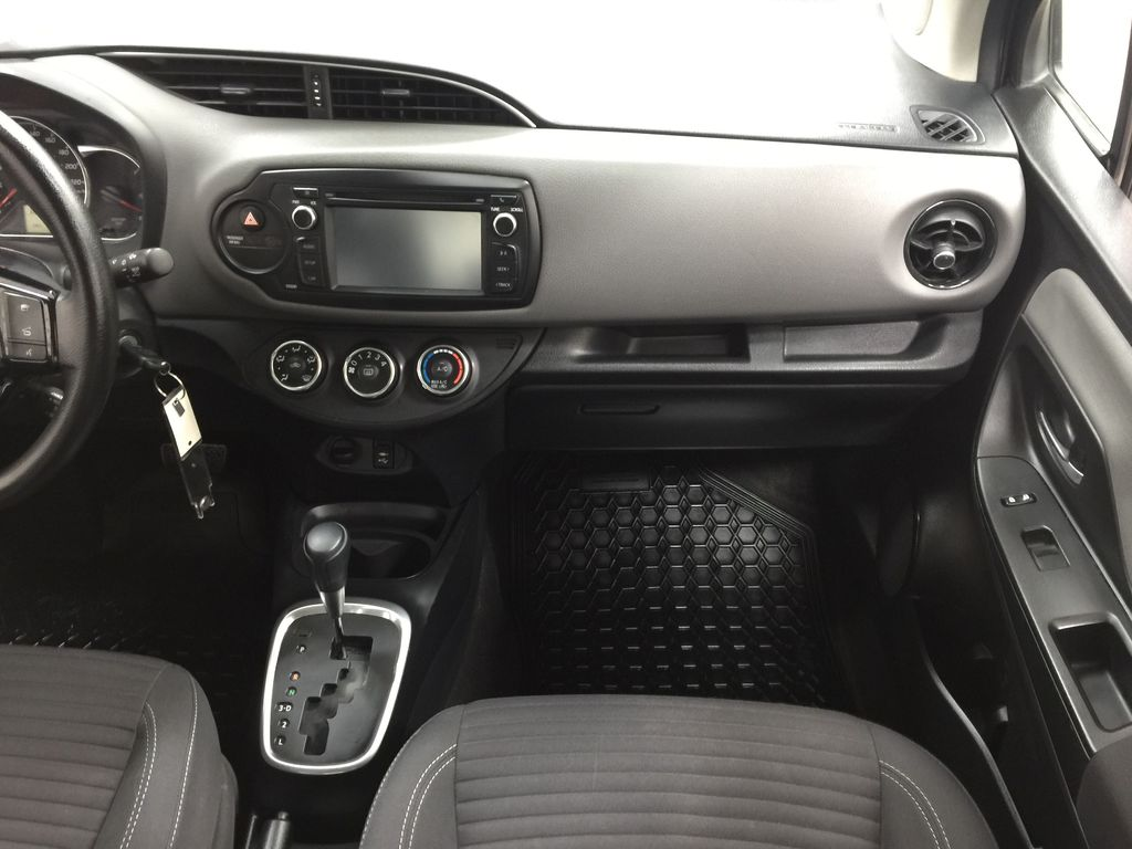 Black[Black Sand Pearl] 2019 Toyota Yaris Hatchback LE / AUTOMATIC Right Front Seat Photo in Sherwood Park AB