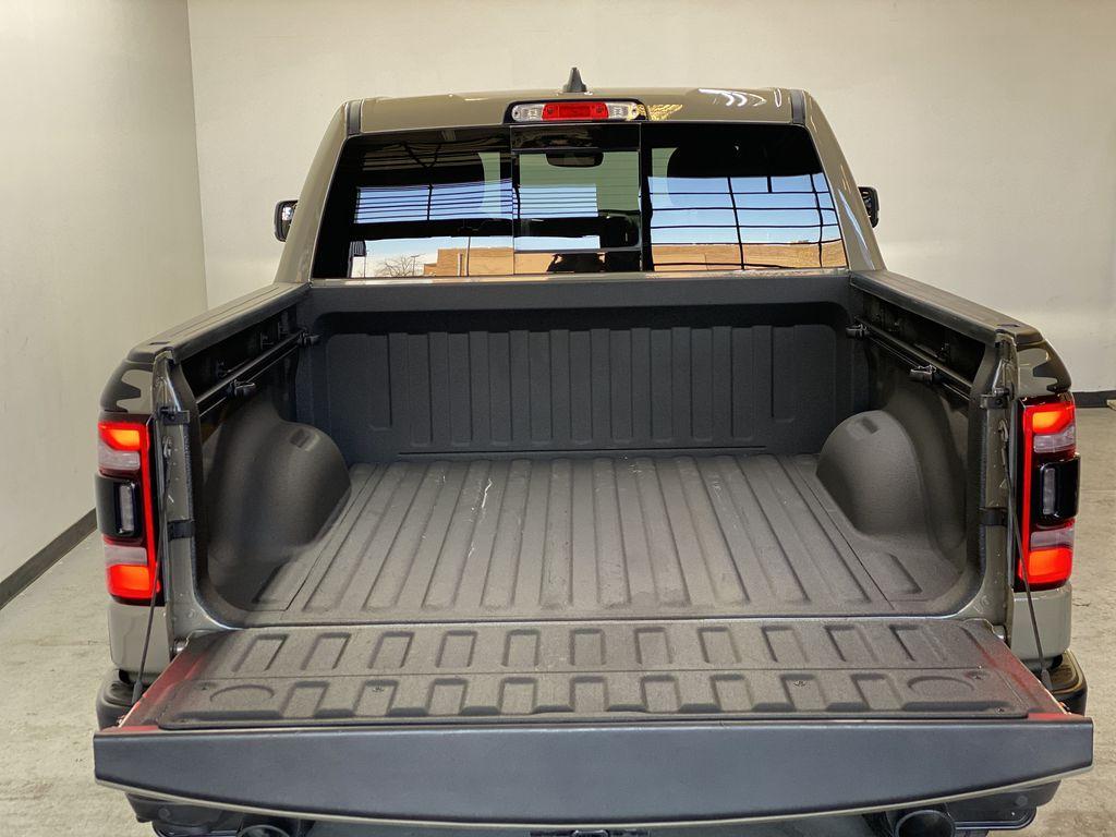 "BROWN 2020 Ram 1500 Big Horn ""Built To Serve"" Edition - Remote Start, Navigation, Apple CarPlay Trunk / Cargo Area Photo in Edmonton AB"