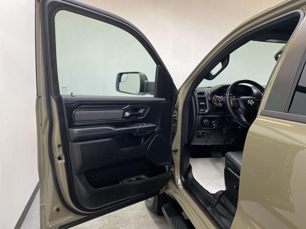 "BROWN 2020 Ram 1500 Big Horn ""Built To Serve"" Edition - Remote Start, Navigation, Apple CarPlay Left Front Interior Door Panel Photo in Edmonton AB"