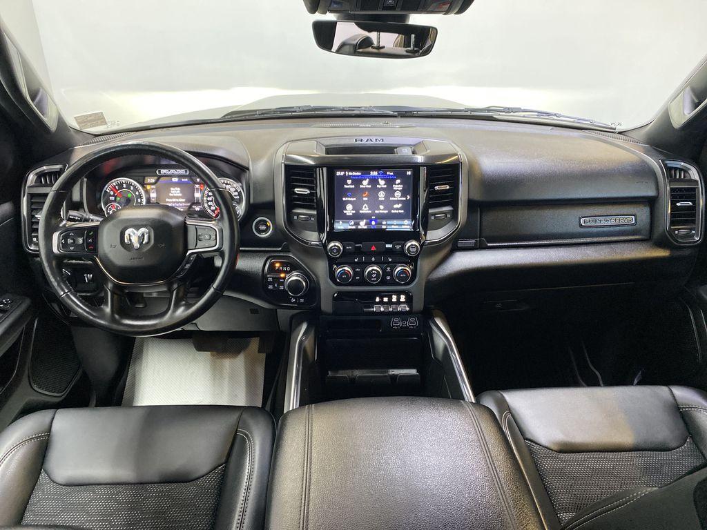 "BROWN 2020 Ram 1500 Big Horn ""Built To Serve"" Edition - Remote Start, Navigation, Apple CarPlay Strng Wheel/Dash Photo: Frm Rear in Edmonton AB"