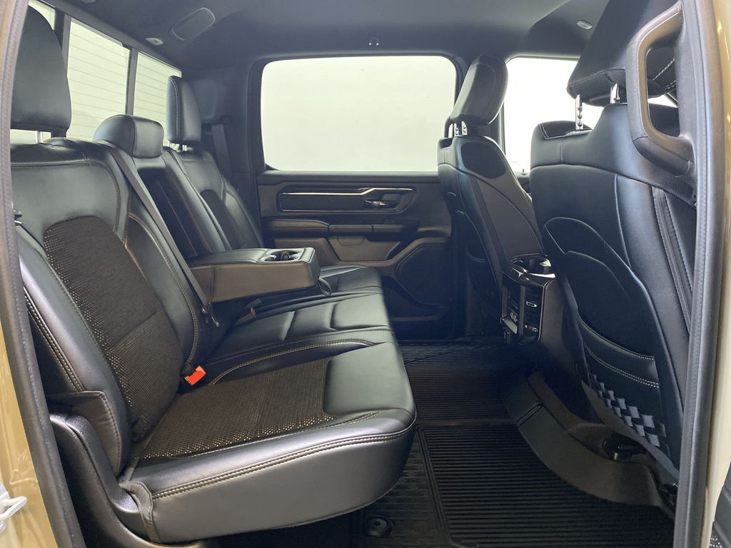 """BROWN 2020 Ram 1500 Big Horn """"Built To Serve"""" Edition - Remote Start, Navigation, Apple CarPlay Right Side Rear Seat  Photo in Edmonton AB"""