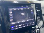 "BROWN 2020 Ram 1500 Big Horn ""Built To Serve"" Edition - Remote Start, Navigation, Apple CarPlay Radio Controls Closeup Photo in Edmonton AB"