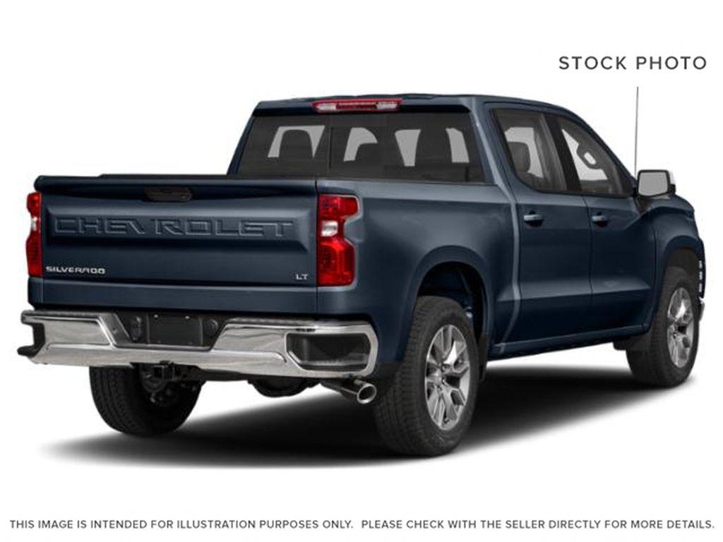 Blue[Northsky Blue Metallic] 2021 Chevrolet Silverado 1500 Right Rear Corner Photo in Edmonton AB