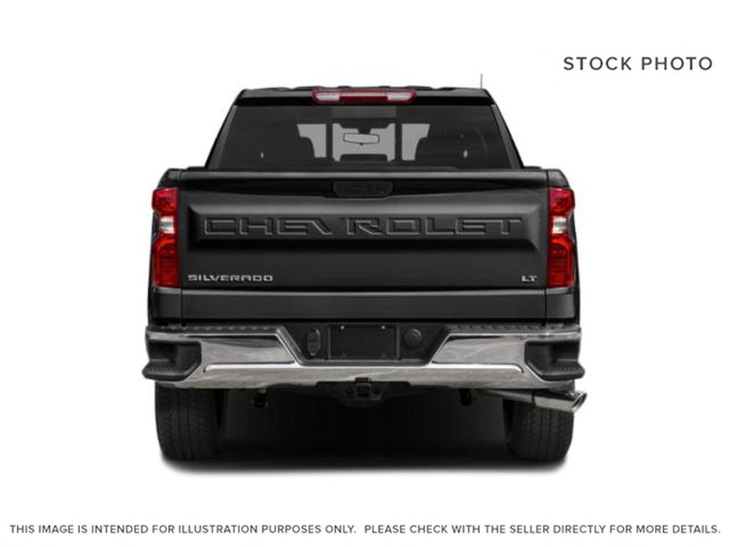 Blue[Northsky Blue Metallic] 2021 Chevrolet Silverado 1500 Rear of Vehicle Photo in Edmonton AB