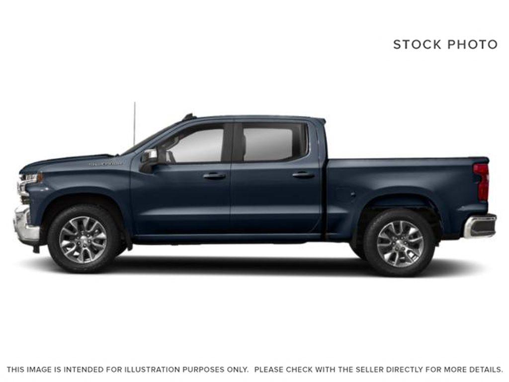 Blue[Northsky Blue Metallic] 2021 Chevrolet Silverado 1500 Left Side Photo in Edmonton AB