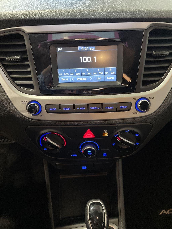 Black[Aurora Black] 2020 Hyundai Accent Left Side Photo in Belleville ON