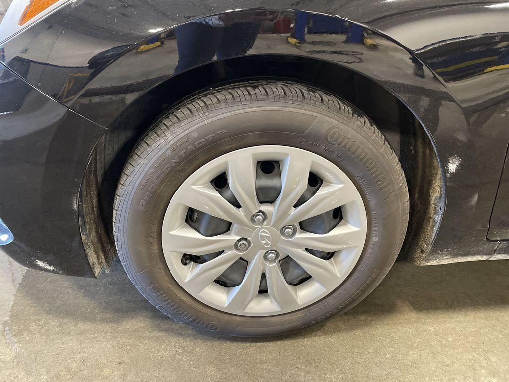 Black[Aurora Black] 2020 Hyundai Accent  Driver's Side Door Controls Photo in Belleville ON