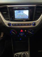 Black[Aurora Black] 2020 Hyundai Accent Left Rear Interior Door Panel Photo in Belleville ON