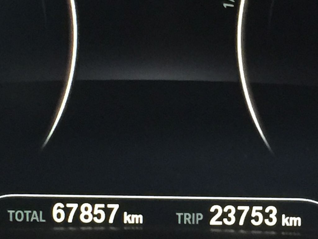 White[Alpine White] 2018 BMW 5 Series 530I XDRIVE Odometer Photo in Sherwood Park AB