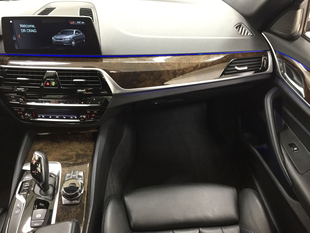 White[Alpine White] 2018 BMW 5 Series 530I XDRIVE Right Front Seat Photo in Sherwood Park AB