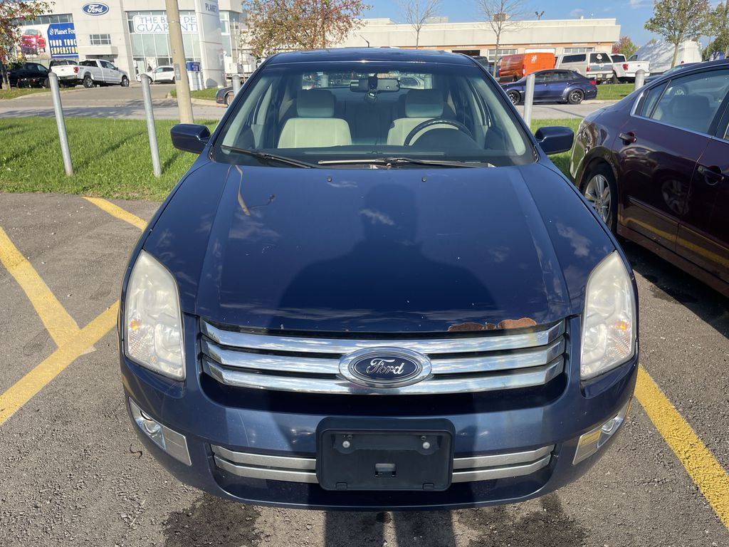 Blue[Dark Blue Pearl] 2007 Ford Fusion clean Front Vehicle Photo in Brampton ON
