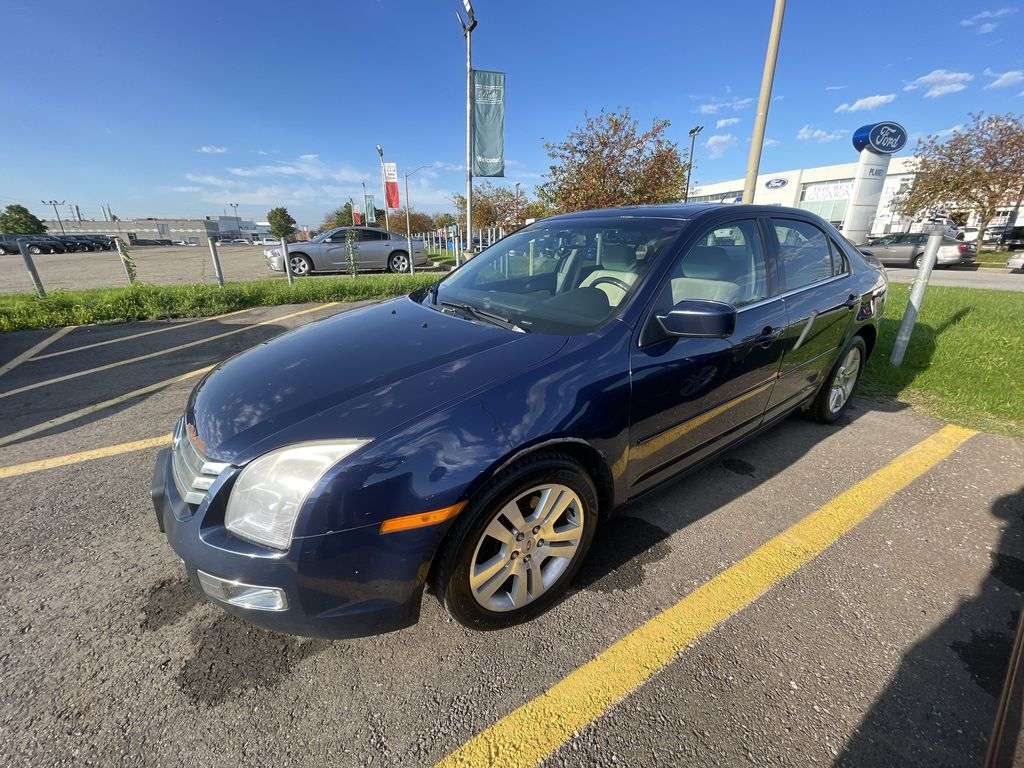Blue[Dark Blue Pearl] 2007 Ford Fusion clean Left Front Corner Photo in Brampton ON