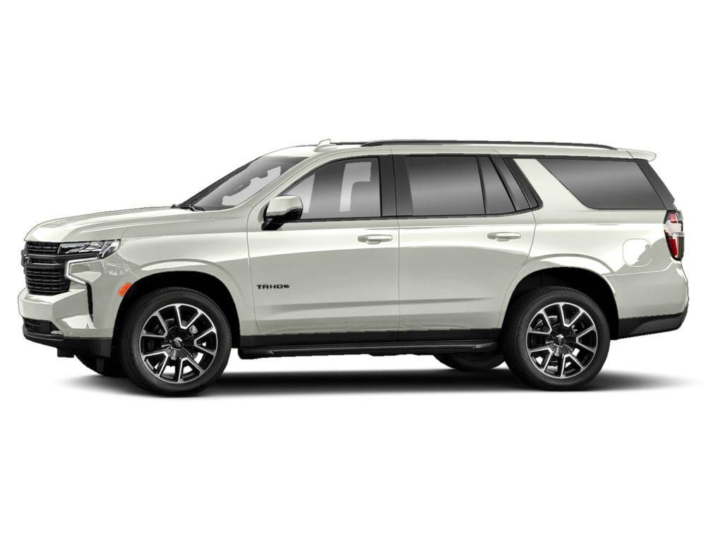 White[Iridescent Pearl Tricoat] 2021 Chevrolet Tahoe Left Front Corner Photo in Barrhead AB