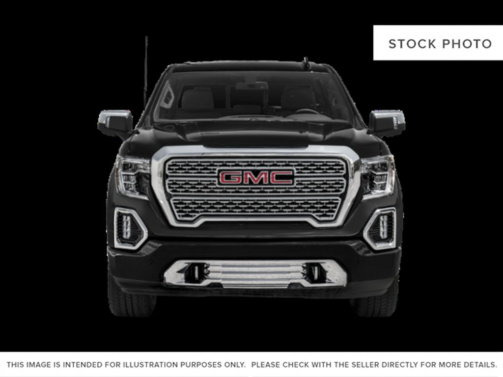 PACIFIC BLUE 2021 GMC Sierra 1500 Diesel Front Vehicle Photo in Oshawa ON
