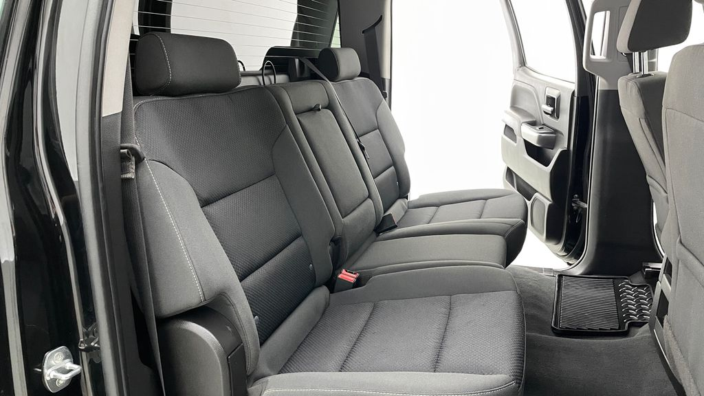 Green 2018 Chevrolet Silverado 1500 LT Z71 4WD - Custom Wrap, Crew, 5.3L Right Side Rear Seat  Photo in Winnipeg MB