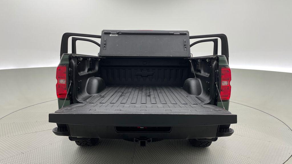 Green 2018 Chevrolet Silverado 1500 LT Z71 4WD - Custom Wrap, Crew, 5.3L Box / Cargo Area Photo in Winnipeg MB