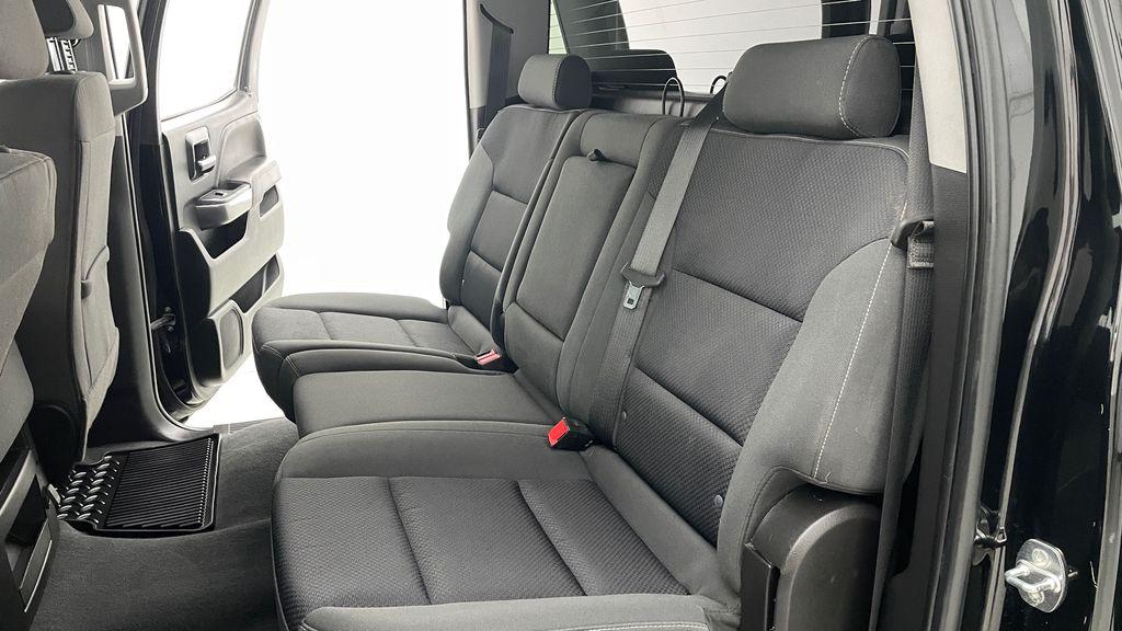 Green 2018 Chevrolet Silverado 1500 LT Z71 4WD - Custom Wrap, Crew, 5.3L Left Side Rear Seat  Photo in Winnipeg MB