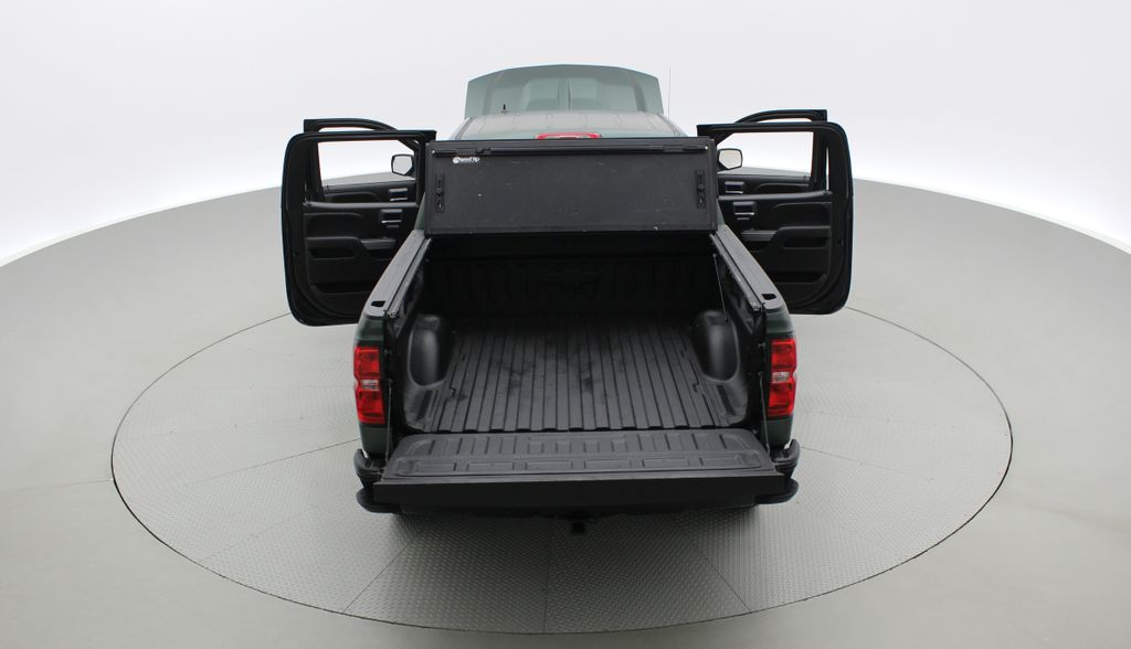 Green 2018 Chevrolet Silverado 1500 LT Z71 4WD - Custom Wrap, Crew, 5.3L Rear of Vehicle Photo in Winnipeg MB