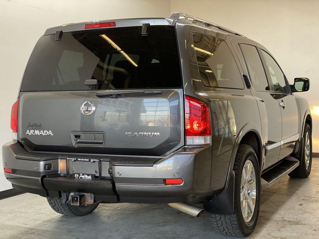 GREY 2012 Nissan Armada Platinum - Backup Camera, Navigation, Remote Start Right Rear Corner Photo in Edmonton AB