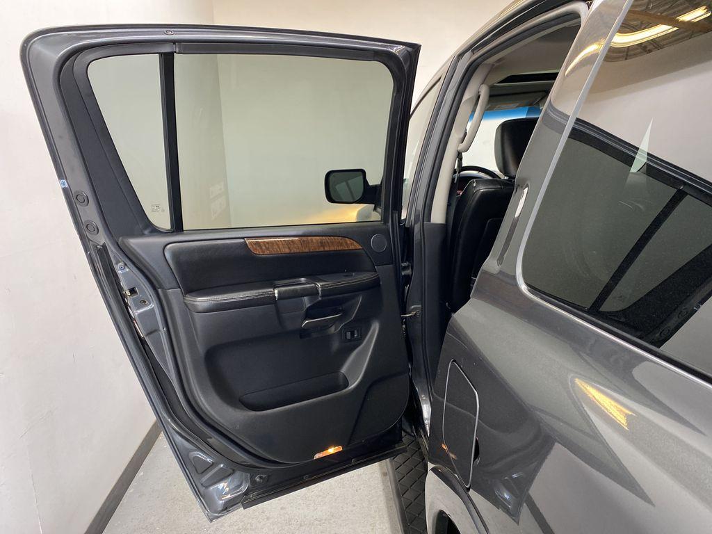GREY 2012 Nissan Armada Platinum - Backup Camera, Navigation, Remote Start Left Rear Interior Door Panel Photo in Edmonton AB