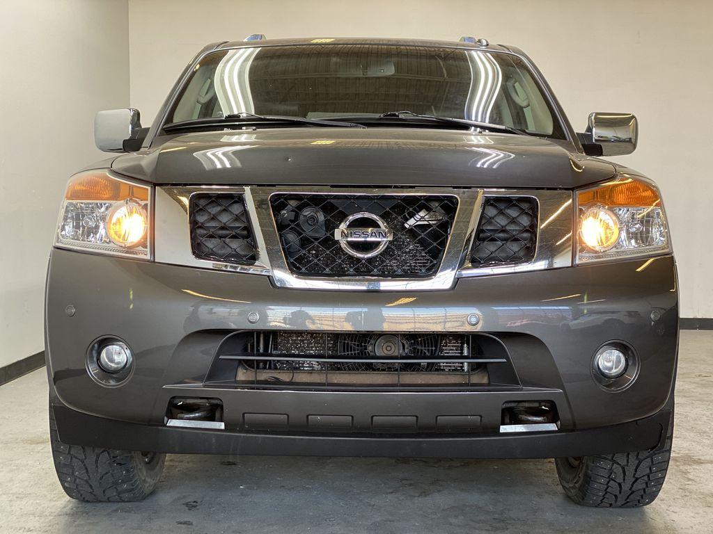 GREY 2012 Nissan Armada Platinum - Backup Camera, Navigation, Remote Start Front Vehicle Photo in Edmonton AB
