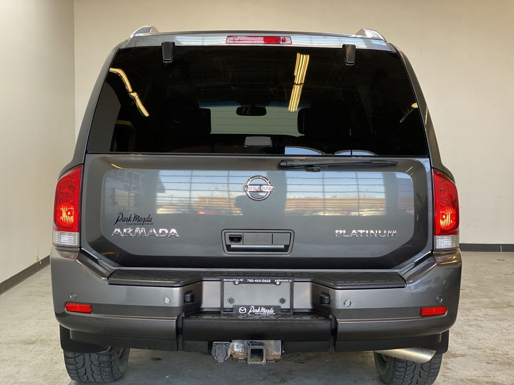 GREY 2012 Nissan Armada Platinum - Backup Camera, Navigation, Remote Start Rear of Vehicle Photo in Edmonton AB