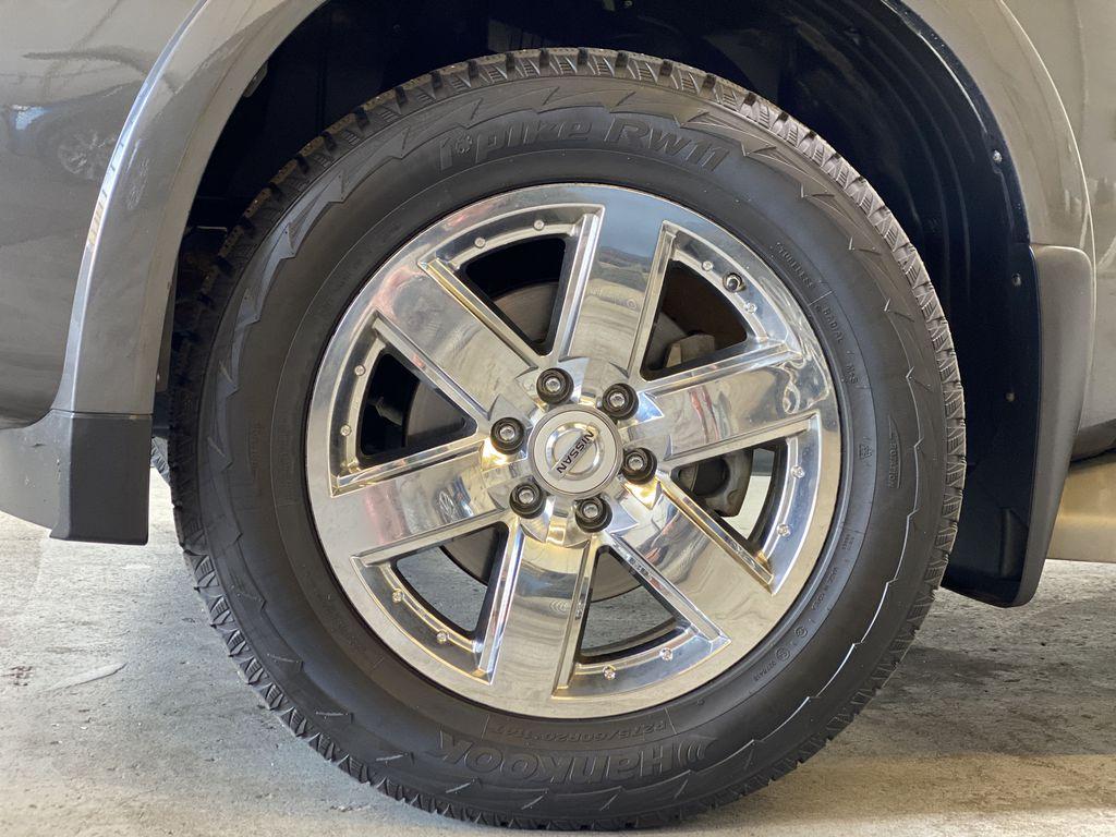 GREY 2012 Nissan Armada Platinum - Backup Camera, Navigation, Remote Start Left Front Rim and Tire Photo in Edmonton AB