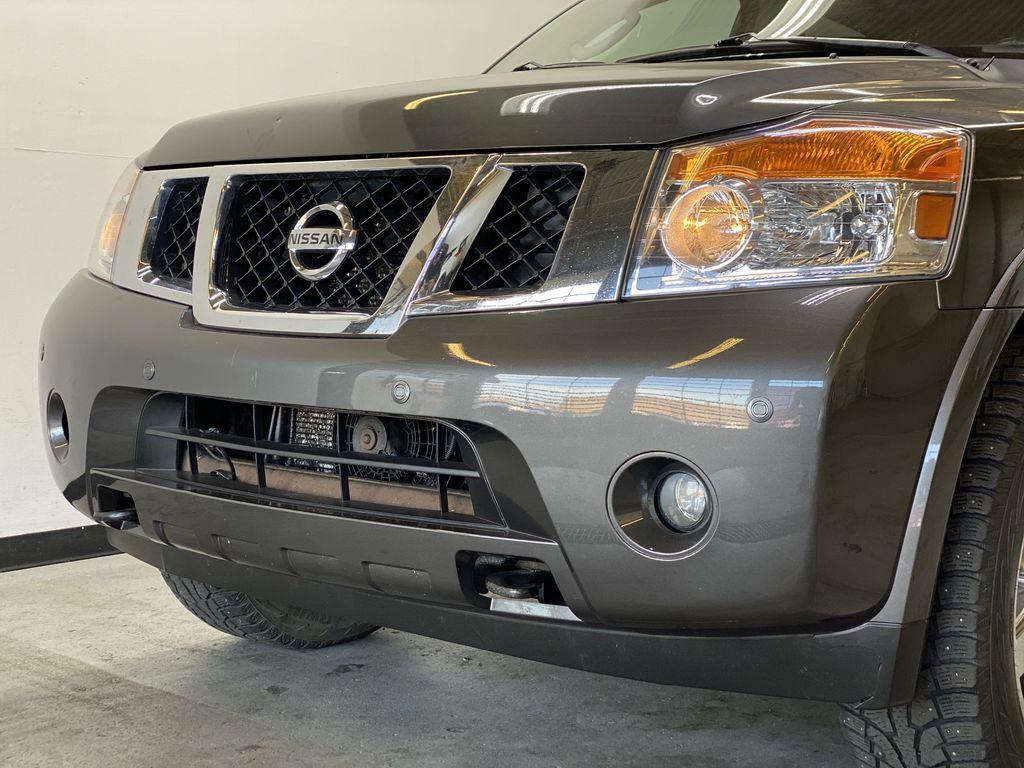 GREY 2012 Nissan Armada Platinum - Backup Camera, Navigation, Remote Start Left Front Head Light / Bumper and Grill in Edmonton AB
