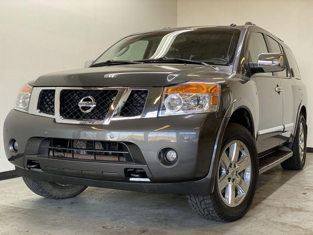 GREY 2012 Nissan Armada Platinum - Backup Camera, Navigation, Remote Start Left Front Corner Photo in Edmonton AB